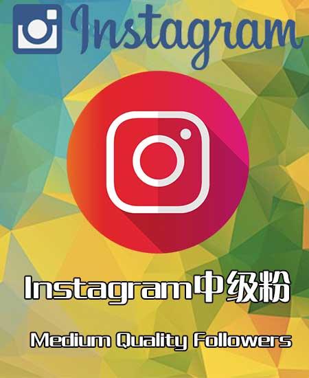instagram中级粉